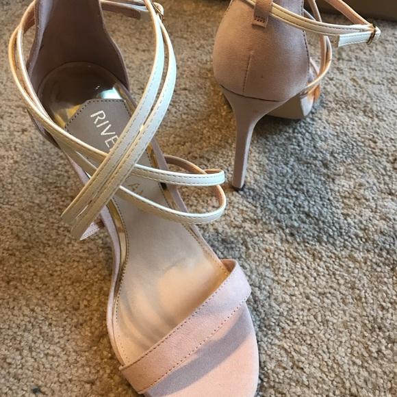 Light Pink And White Heels | Poshmark